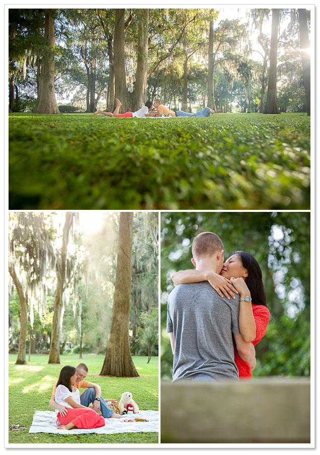 Dickson Azalea Park Engagement Session by ArtPhotoSoul Photographers on ArtfullyWed.com