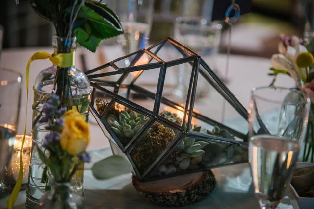 Creative Ideas for Spring Wedding Decor: Terrariums