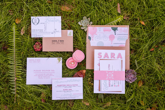 A Florida ranch wedding with gorgeous rustic details, a pink palette and smoke bombs by Ashlee Hamon Photography