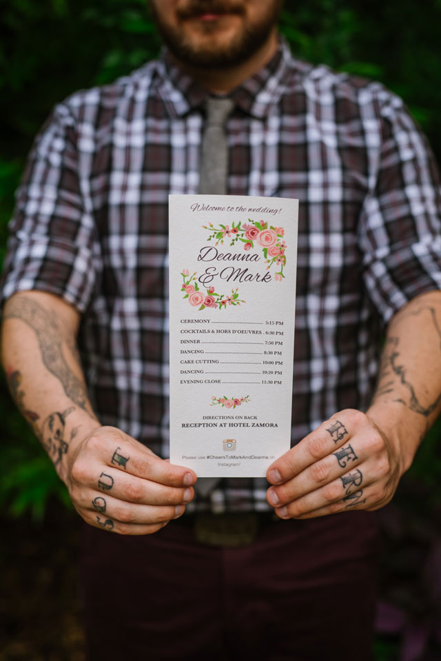 A rooftop wedding in Florida with a garden ceremony by Ashlee Hamon Photography