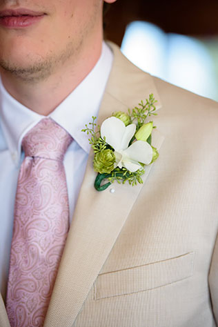 A sweet arboretum wedding in Pennsylvania with orchids and a mountain climbing themed wedding cake | Ashley Gerrity Photography: http://www.ashleygerrityphotography.com