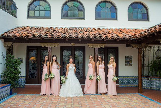An historic Darlington House wedding combining Moroccan details with colorful architecture and greenery by Ashley Strong Photography