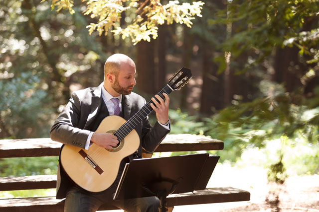 An intimate California redwoods wedding in Tilden Park followed by a reception at the Brazilian Room // photos by Bergreen Photography: http://www.bergreenphotography.com || see more on https://blog.nearlynewlywed.com