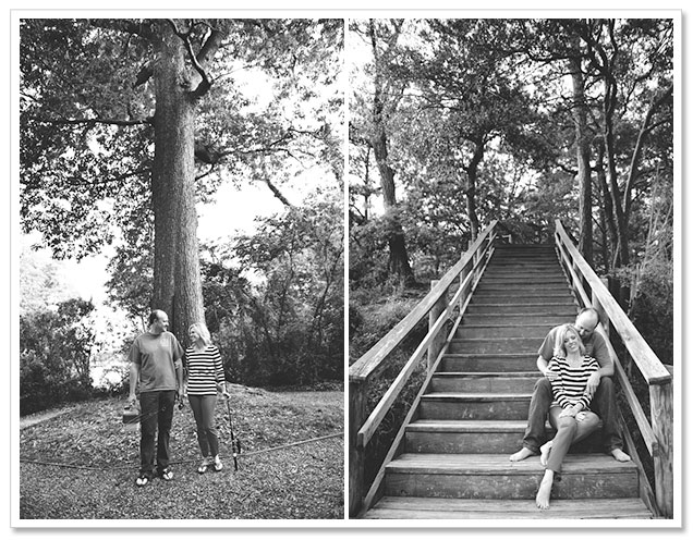Fishing Hole Engagement Session by Bit of Ivory Photography on ArtfullyWed.com