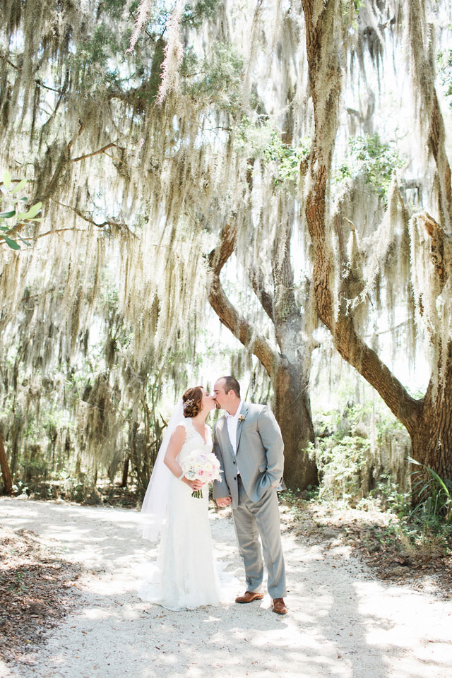 A sweet and intimate beach wedding on Amelia Island by Brooke Images