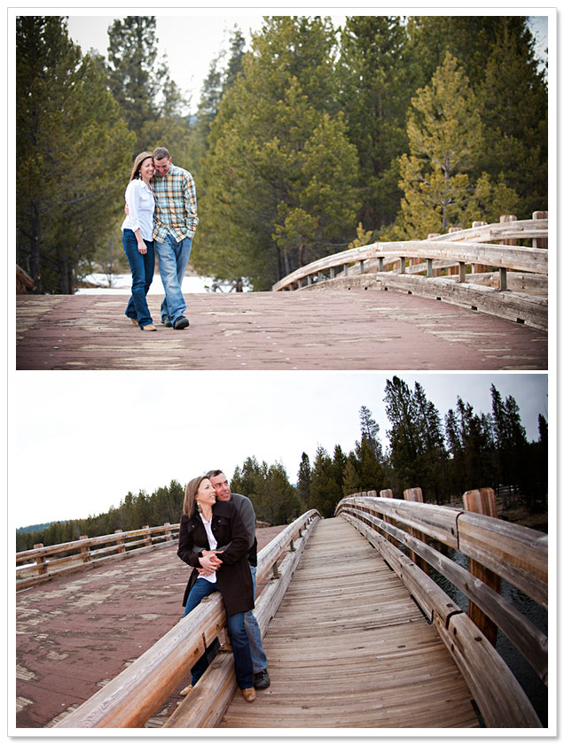 Sunriver Resort Engagement Session by Byron Roe Photography on ArtfullyWed.com