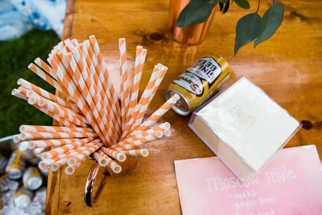 A charming summer wedding in coral at a farmhouse in the Finger Lakes | Calypso Rae Photography: http://www.calypsoraephotography.com