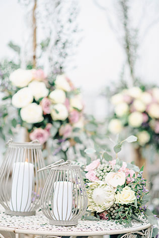 A gorgeous, intimate Finnish wedding by the sea in Pantone's color of the year Serenity by Camilla Bloom