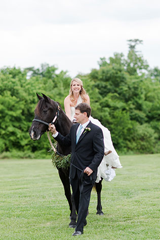 A rustic and elegant Kentucky Derby themed wedding at a barn in North Carolina by Candi Leonard Photography