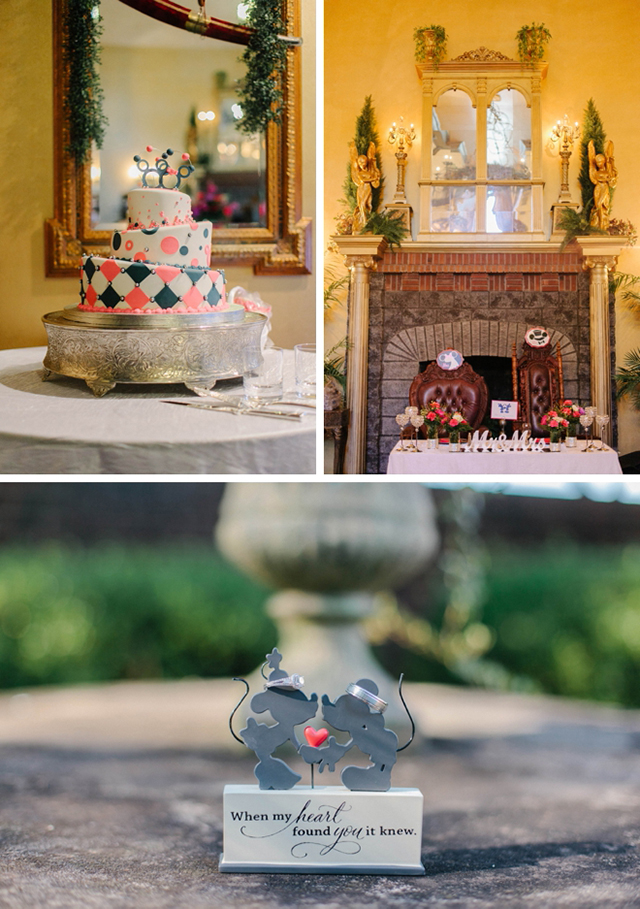 A magical Disney-themed wedding by Catherine Ann Photography    see more on blog.nearlynewlywed.com