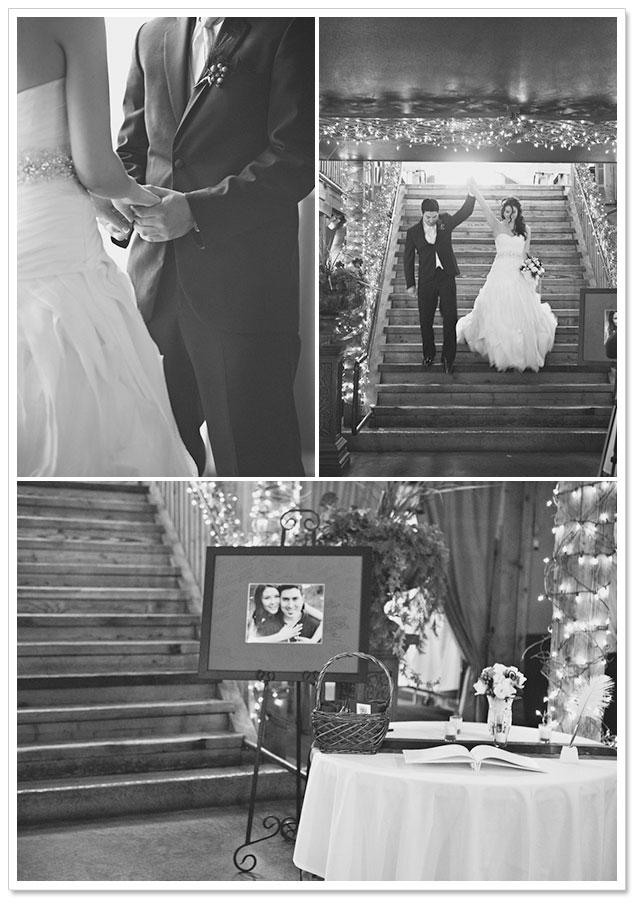Chic Barn Wedding by Courtney Bowlden Photography on ArtfullyWed.com