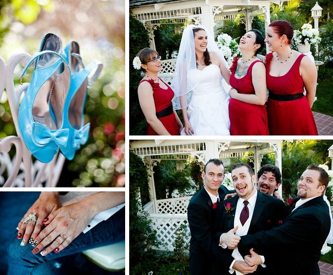 Alice in Wonderland Wedding by Chasing Daylight on ArtfullyWed.com