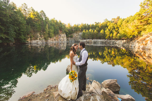 An autumn destination farm wedding with sunflowers in North Carolina // photos by Concept Photography: http://www.cptphotography.com    see more on https://blog.nearlynewlywed.com