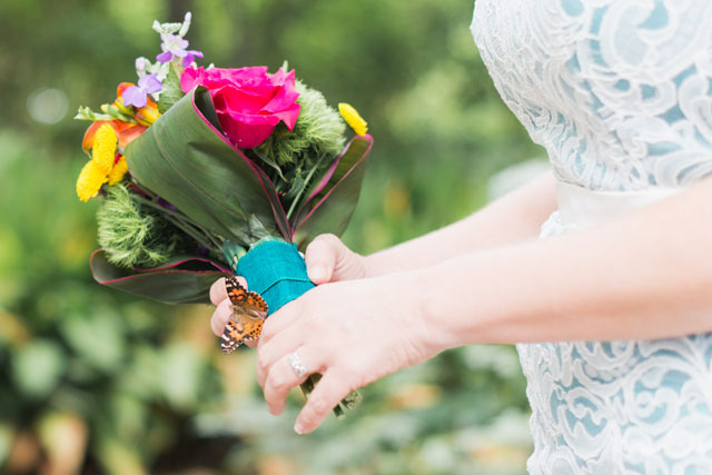 Ideas for a butterfly themed botanical garden wedding | Cottonwood Road Photography: cottonwoodroadphotography.com