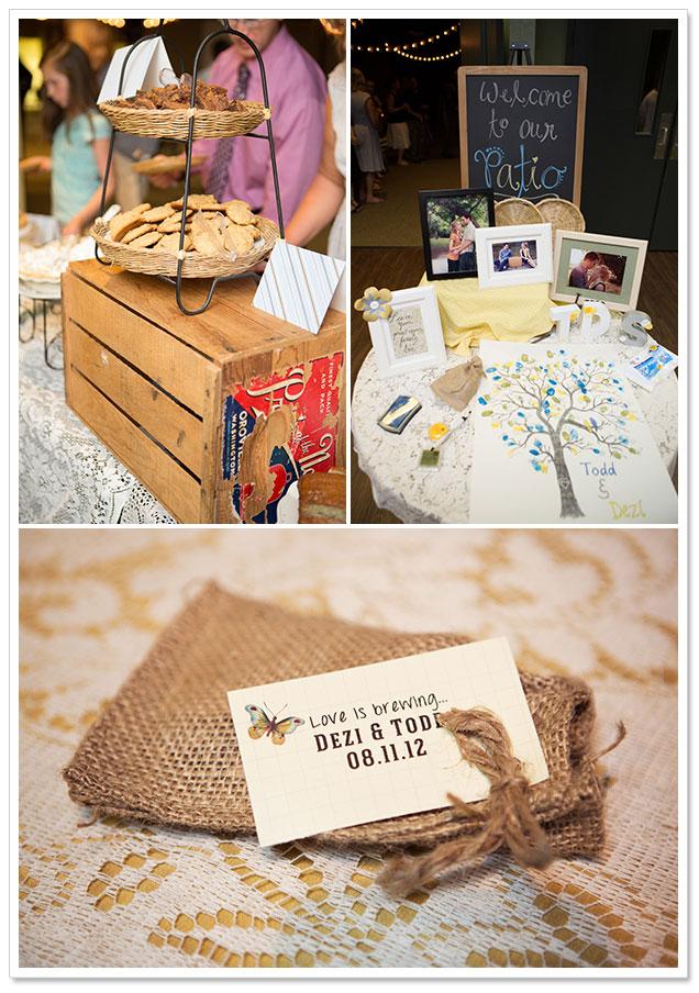 Handmade Budget Wedding by Cottonwood Studios Worldwide on ArtfullyWed.com