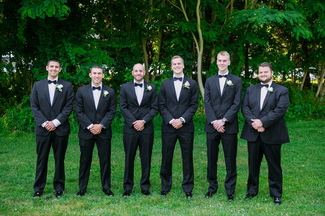 A summer wedding at The Inn at Longshore with a blush and gray palette   Dana Cubbage Weddings: danacubbageweddings.com