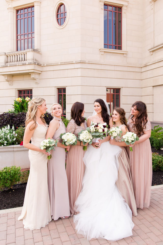 A classic Palladium Performing Arts Center wedding with European influence by Danielle Harris Photography