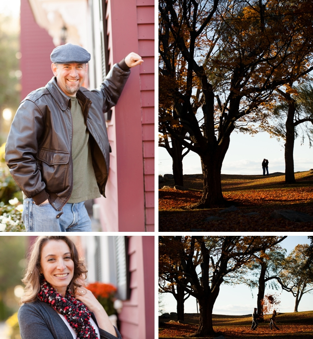 An autumn e-shoot at the historic House of the Seven Gables by Deborah Zoe Photography || see more at blog.nearlynewlywed.com