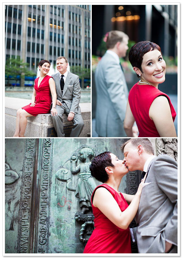 Breakfast at Tiffany's Engagement Session by Danfredo Photography on ArtfullyWed.com