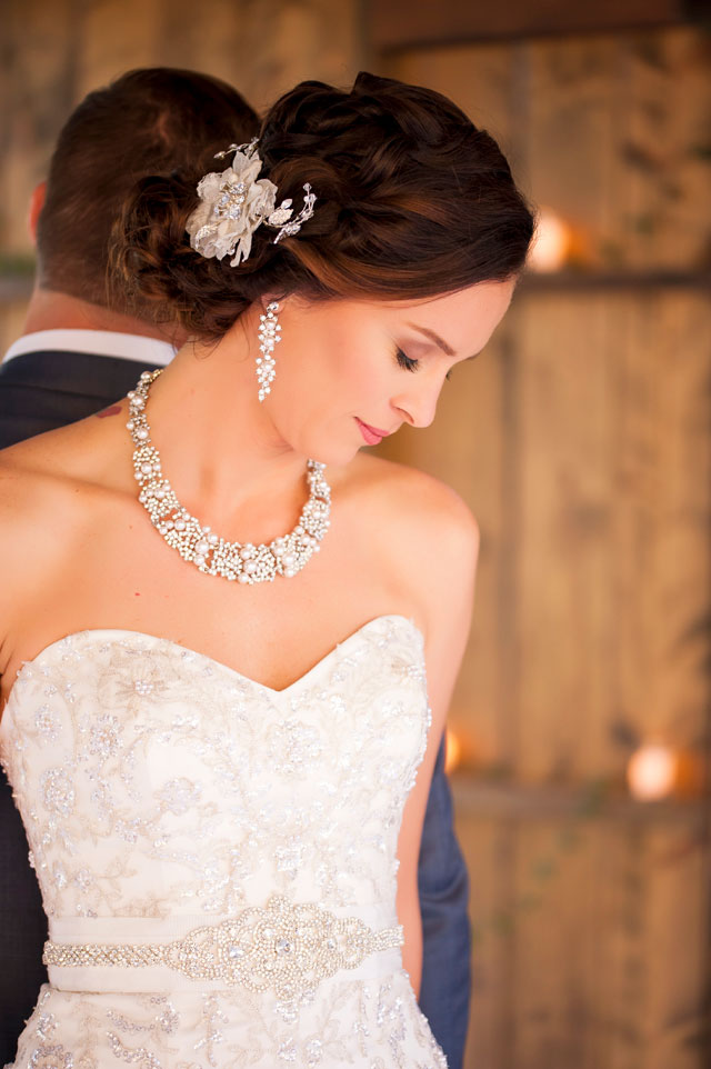 A timeless and classic blush and navy wedding by Drew Brashler Photography