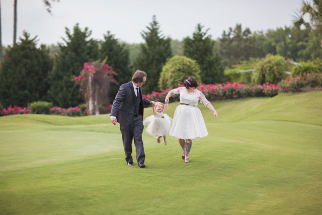 "A romantic vow renewal inspired by the couple's first dance song, ""First Day of My Life"" // photo by Dustin Lewis Images: http://dustinlewisimages.com 