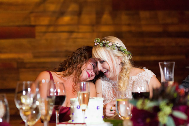 A rustic barn wedding with a rich marsala palette | Elena Bazini Photography: http://www.elenabaziniphotography.com