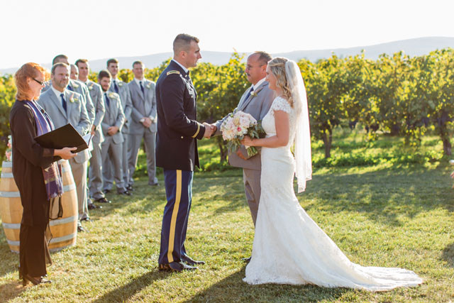 A romantic vineyard soiree in blush pink by Erin Brennan Photography and Designed Perfectly Events