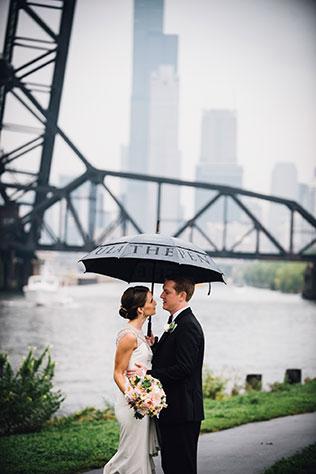 A rainy summer Chicago Art Center Wedding | Erin Hoyt Photography