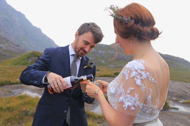 An incredibly intimate commitment ceremony in Scotland at the breathtaking Isle of Skye by Euphoria Photography