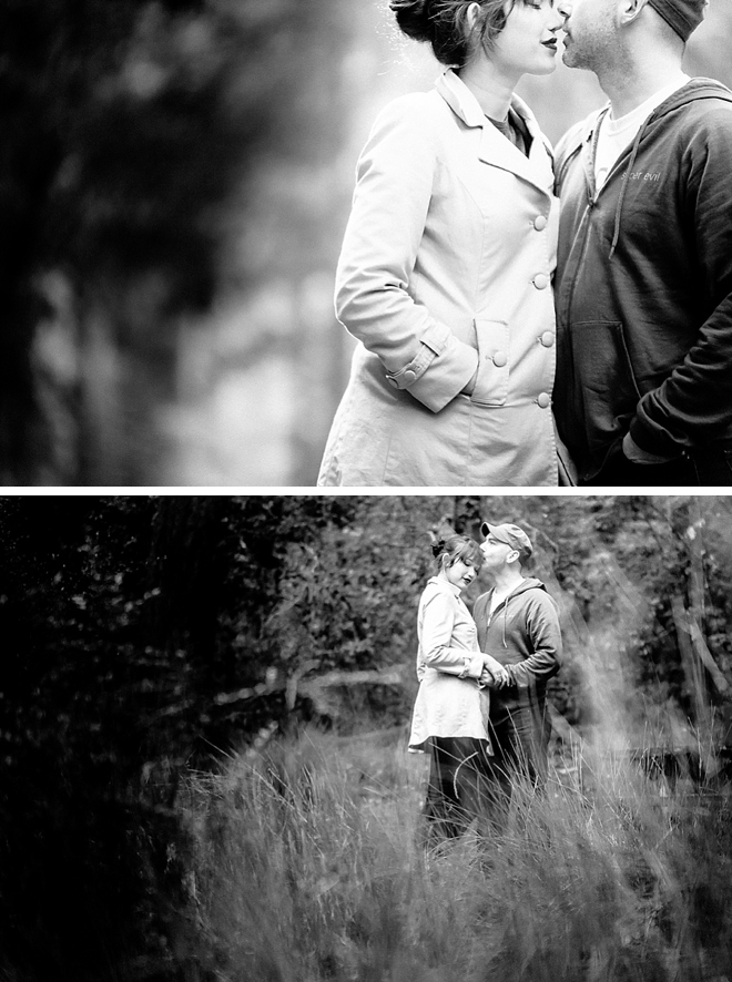 Big Basin Redwoods State Park Engagement by Funny Bunny Photography on ArtfullyWed.com