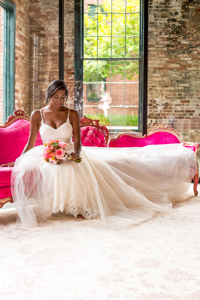 A vibrant artistic and industrial wedding for two artists by George Street Photo & Video