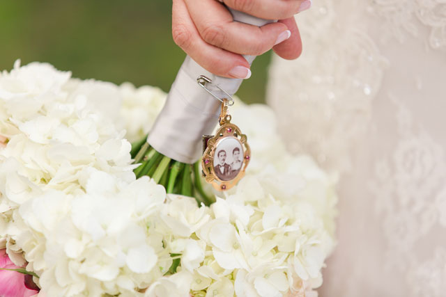 A romantic and rustic cherry blossom spring wedding in Maryland by Ginny Filer Photography