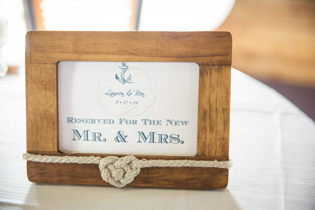 A nautical-themed wedding in the Outer Banks of North Carolina   Grant & Deb Photographers: http://grantdeb.com