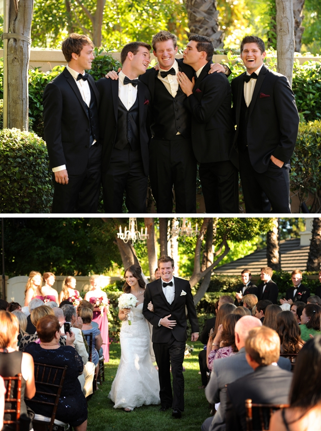 A gorgeous and elegant private estate wedding in California by Gavin Wade Photographers || see more on blog.nearlynewlywed.com