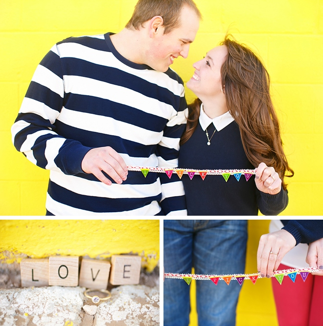 Downtown Lubbock Engagement by Heather Sanderson Photography