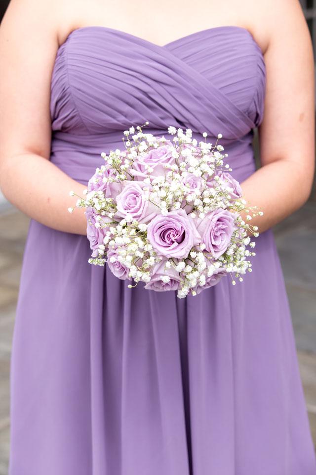 An elegant lavender estate wedding in the garden at Park Savoy by Idalia Photography