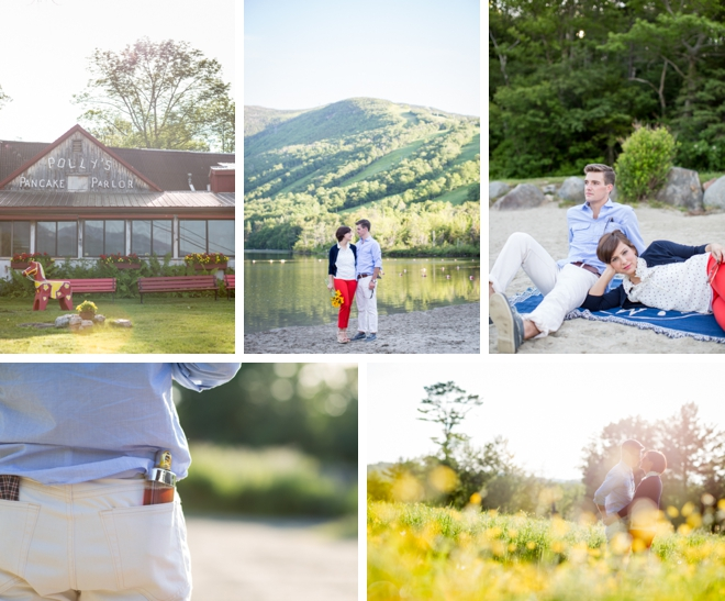Pancake Picnic Engagement by J. Harper Photography