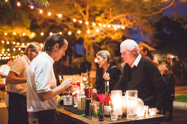 A neighborhood block party Friendsgiving celebration turns into a surprise pop-up wedding | Jacqueline Pilar Photography: http://pilarreflections.blogspot.com | Wild Heart Events: http://www.wildheartevents.com