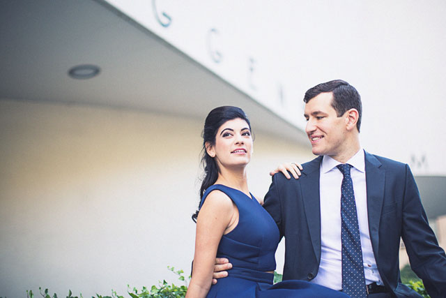 A Mad Men inspired engagement shoot in the Upper East Side by Jaylim Studio