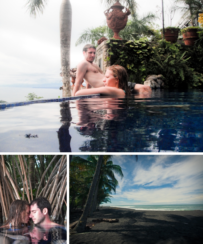 Costa Rica engagement by Jeremie Barlow Photography || see more at blog.nearlynewlywed.com