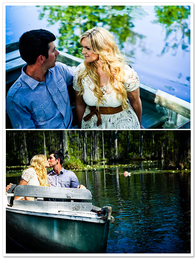 Cypress Gardens Engagement by Jolie Connor Photography on ArtfullyWed.com