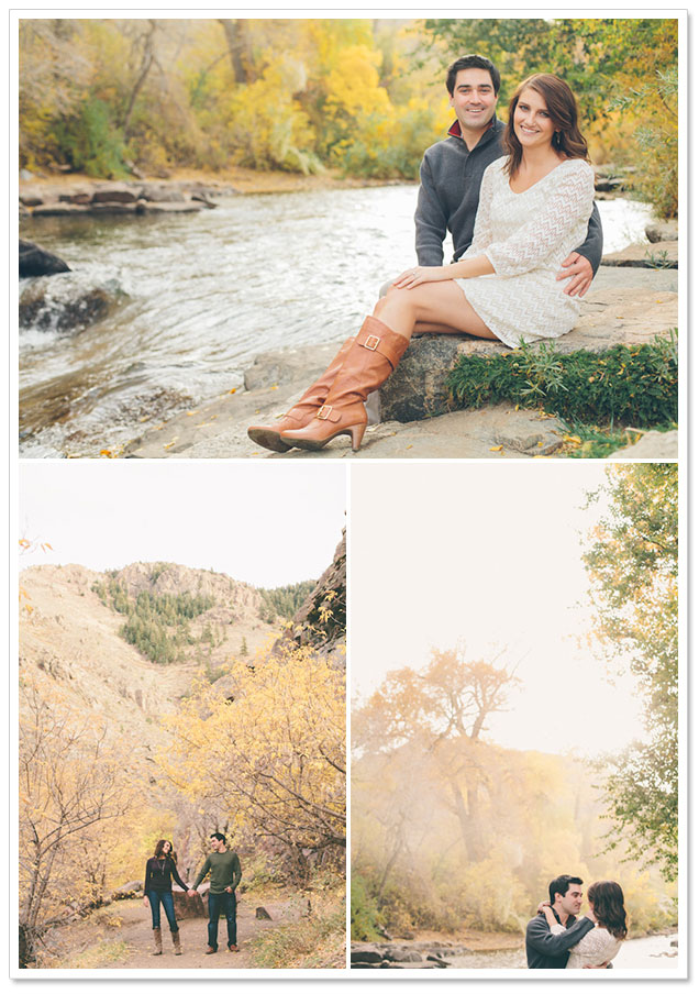Clear Creek Canyon Engagement Session by Jessica Christie Photography on ArtfullyWed.com