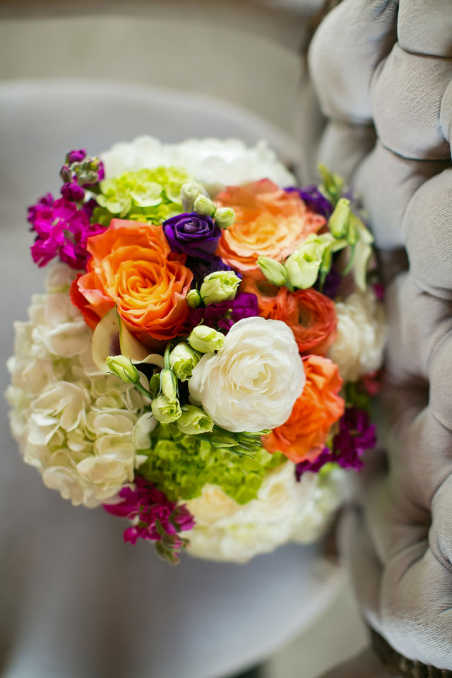 A lovely purple and orange Minnesota farm wedding in autumn by Jeannine Marie Photography