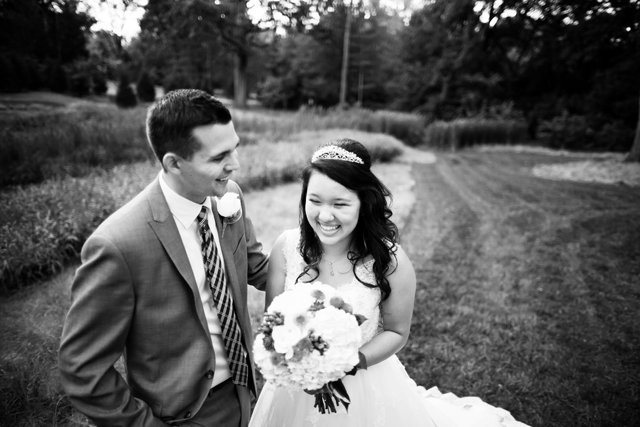 An intimate autumn wedding at a Nashville botanical garden by Jen & Chris Creed Photographers    see more on blog.nearlynewlywed.com