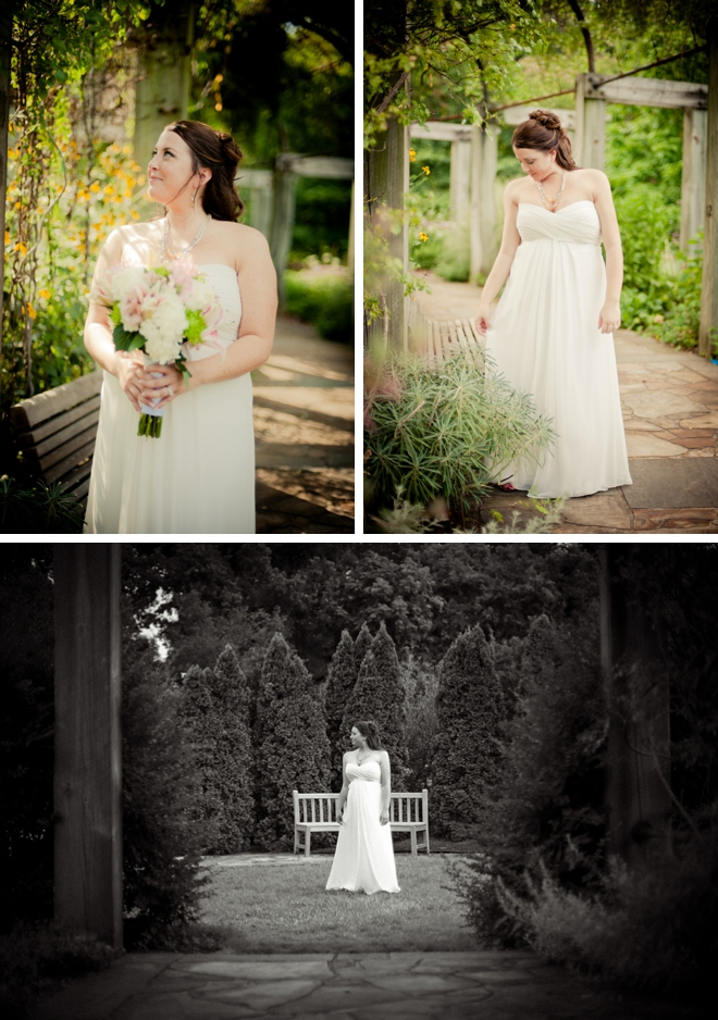 Greensboro Arboretum Bridal Session by Jen Yuson Photography on ArtfullyWed.com
