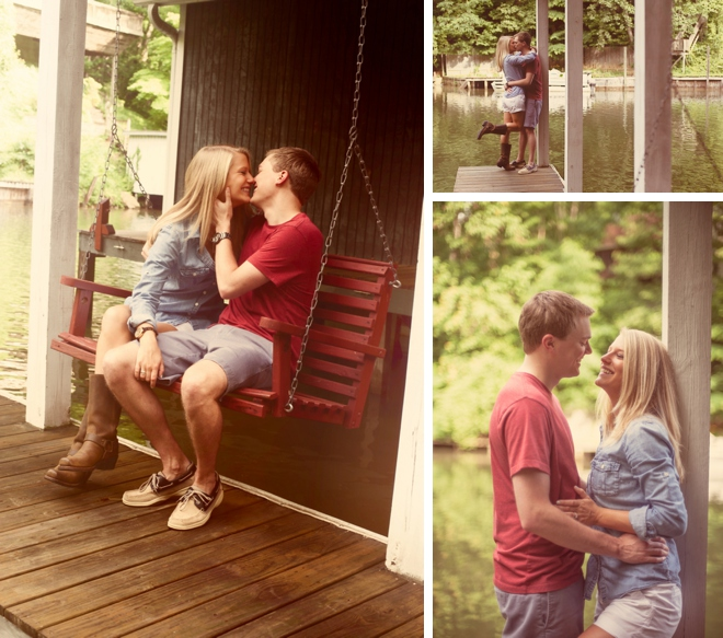 Dirty Dancing Engagement Session by Jen Yuson Photography on ArtfullyWed.com