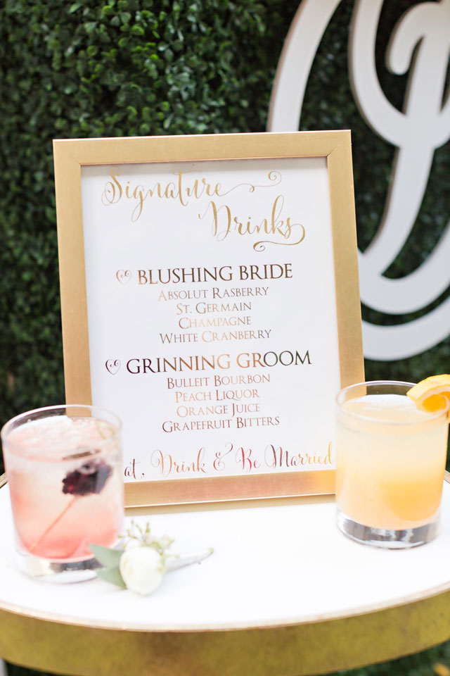 An elegant Westin Poinsett hotel wedding with BBQ, signature cocktails and a tented ceremony by Jennifer Stuart Photography