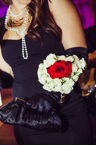 A lavish Great Gatsby-inspired wedding celebration with a vintage travel motif | Jenny Bright Photography: http://jennybright.com