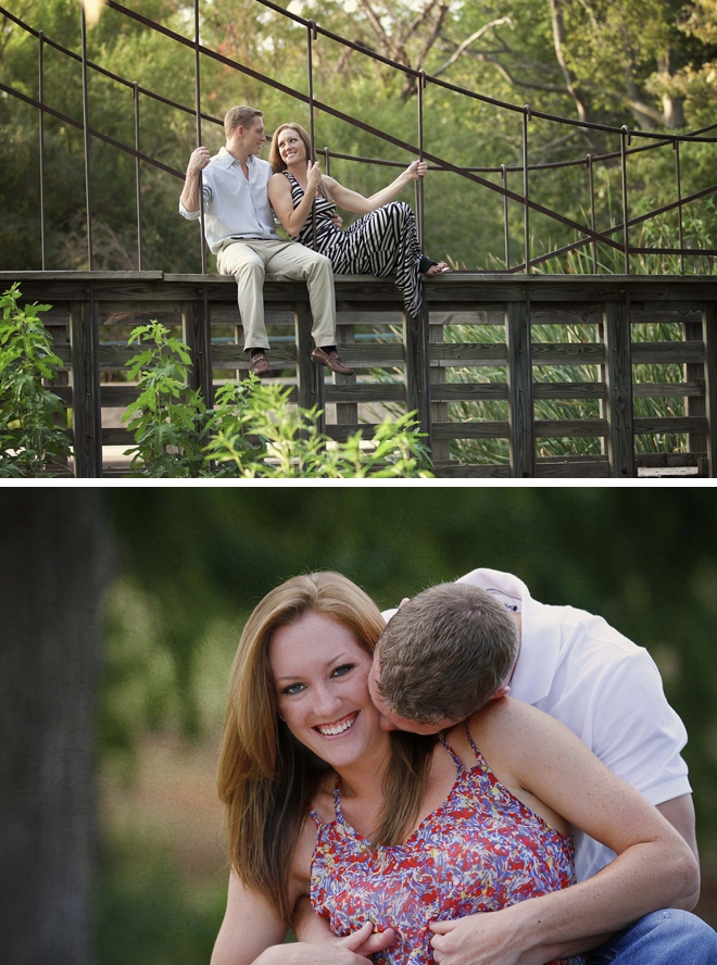 Duck Pond Engagement by Jessi Dalton Photography on ArtfullyWed.com