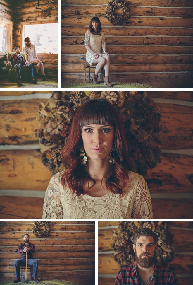 Lumberjack-Inspired Engagement by Jessica Christie Photography on ArtfullyWed.com
